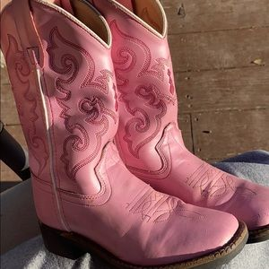 Old West Shoes - Little girls cowboy boots